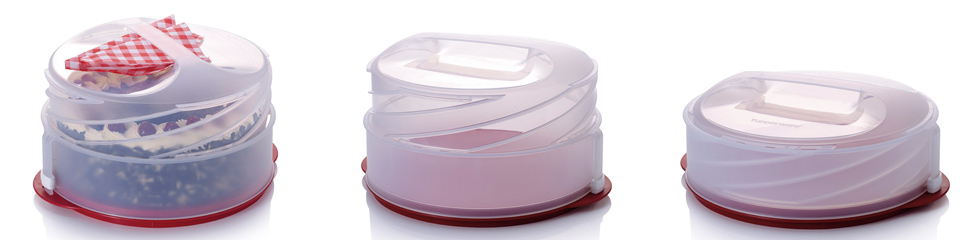 Collapsible Cake Carrier Tupperware
